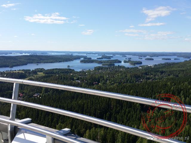 Het Finse merengebied rond Kuopio