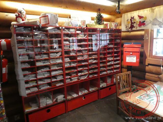Het kleine postkantoor van de kerstman