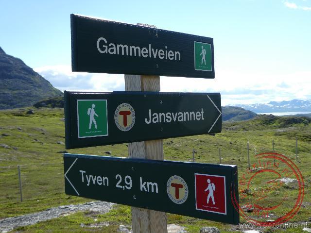Het bergachtige natuurgebied Salen rond Hammerfest