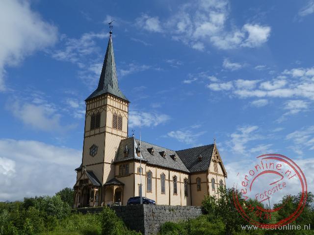 De houten kathedraal van Kabelvag