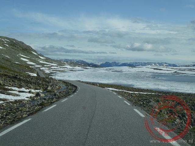 De oude weg naar Aurland over de bergen