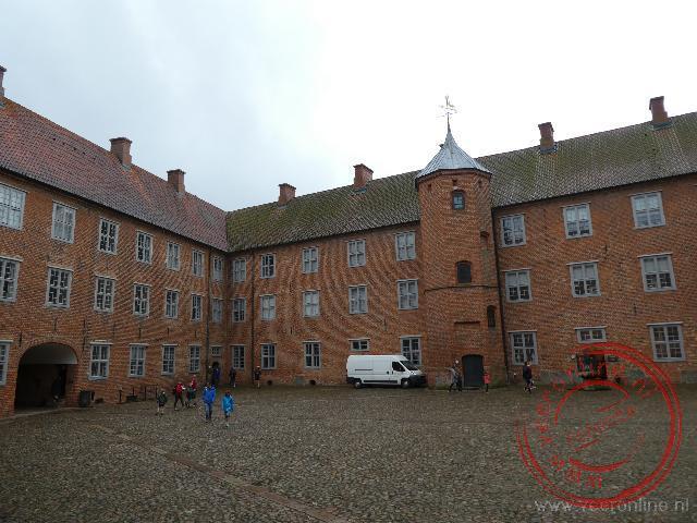 Het Slot Sonderborg in Denemarken