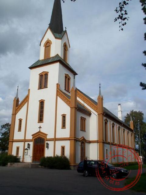 Het kerkje van Gjøvik