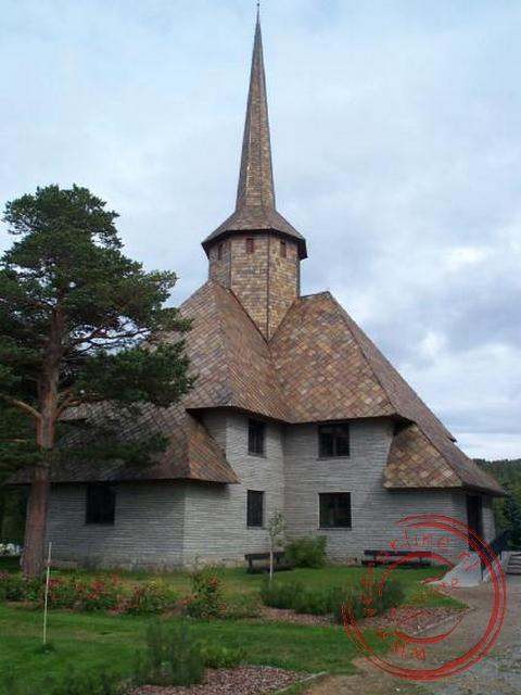 De kerk van Dombås