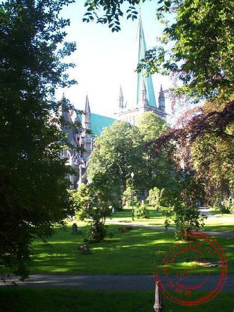 Nidarosdomen,  de Kathedraal van Trondheim