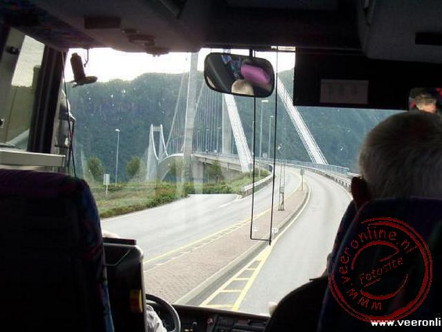 De busrit richting Molde