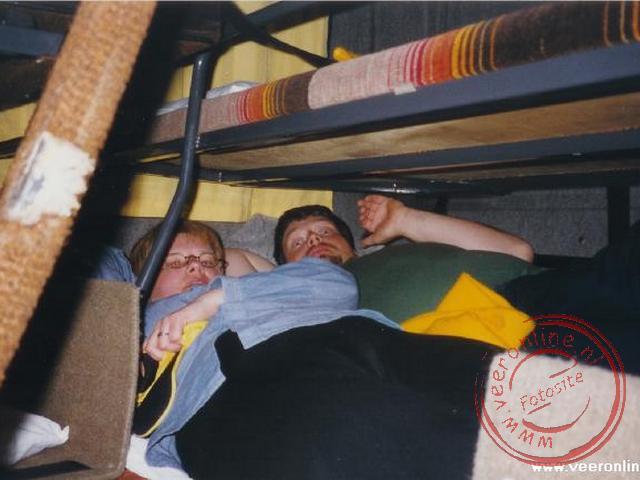 In de slaapbus op weg naar Oberperfuss