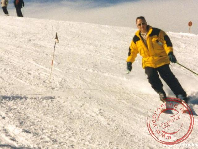 Ronald op de ski s