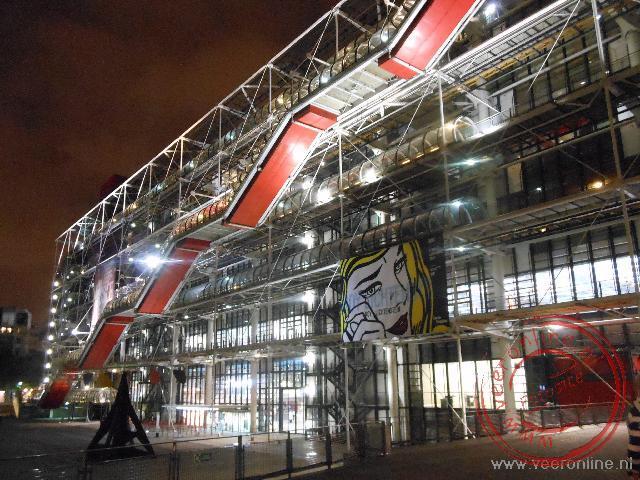 Het kunstzinnige Centre Pompidou
