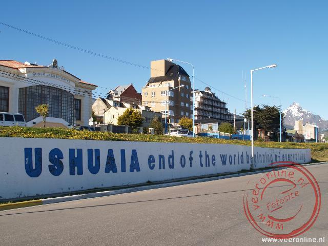 Ushuaia end of the world, beginning of everyting