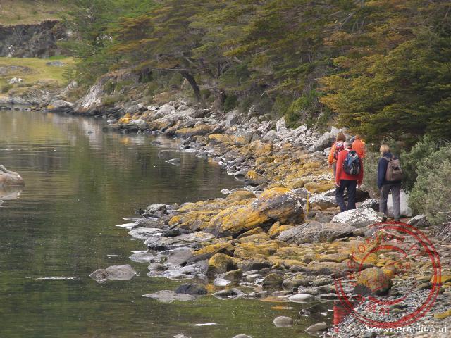 De wandeling Senda Costera door het nationale park Vuurland
