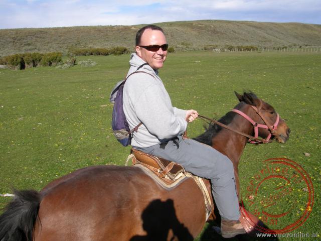 Paardrijden door de velden bij Rio Verde