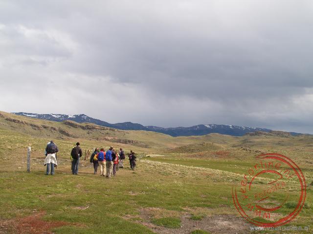 Een middag wandeling in het park Torres del Paine