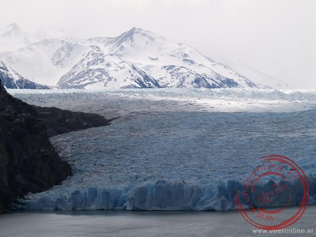 De Grey Gletsjer is één van de grotere gletsjers van Chili