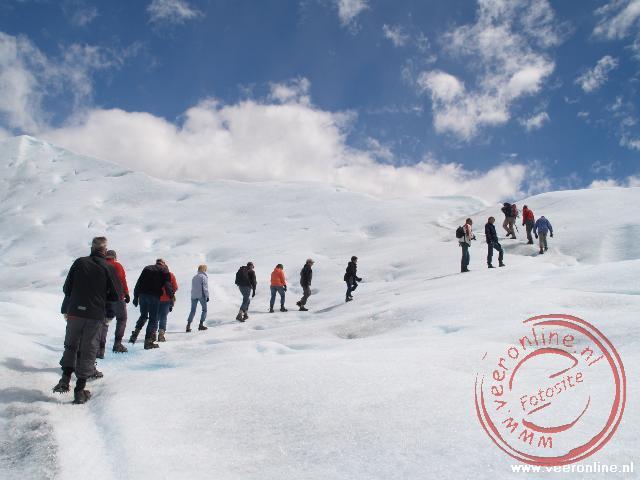 Hiken over Perito Moreno