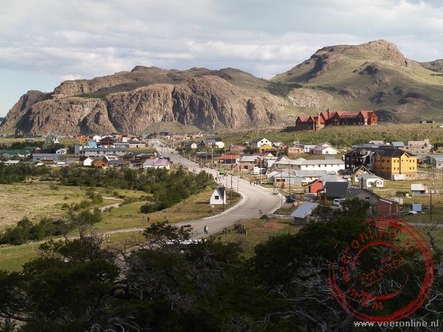 Het dorpje El Chaltén