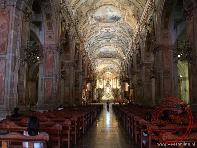 De kathedraal van Santiago