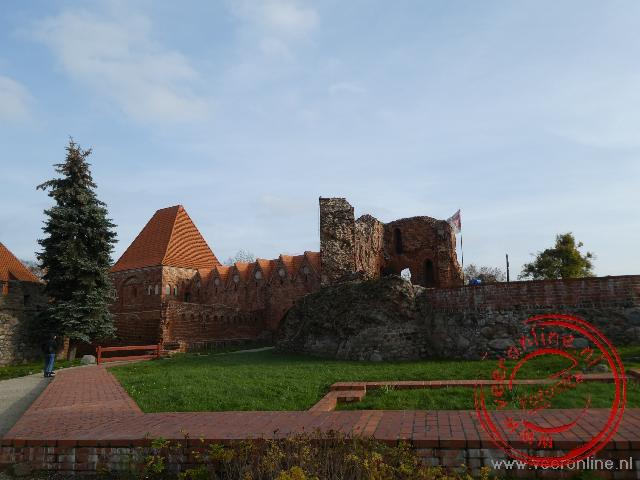 De Burcht van de Duitse Orde in Torun