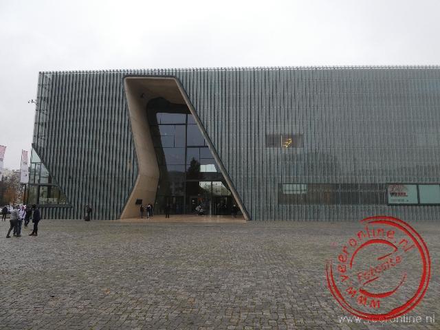 Het museum van de geschiedenis van de Poolse Joden