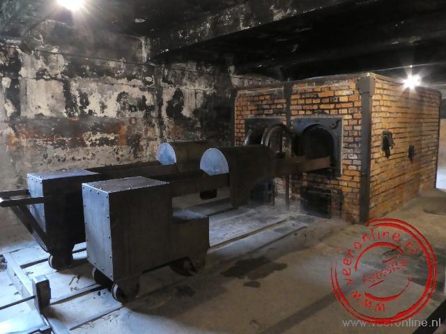 De ovens van Auschwitz