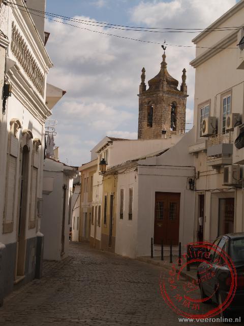 Een straatje in Loulé