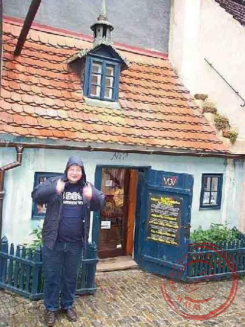 De kleine huizen boden vroeger huisvestiging voor o.a. bewakers