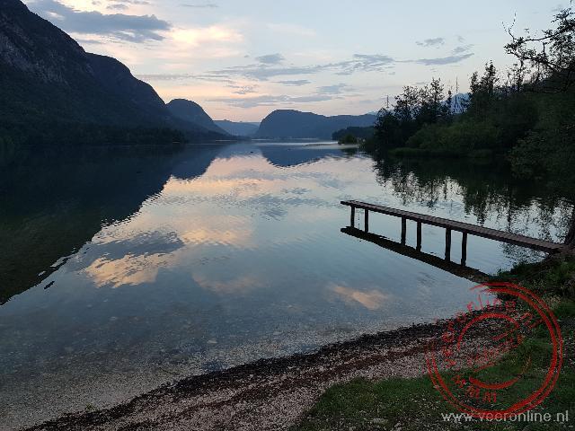Het prachtige Bohinj meer