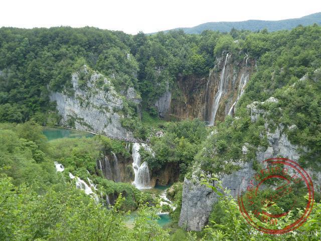 De watervallen van de Plitvice meren