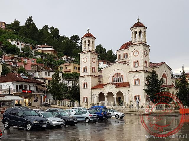 De orthodoxe kerk in Berat