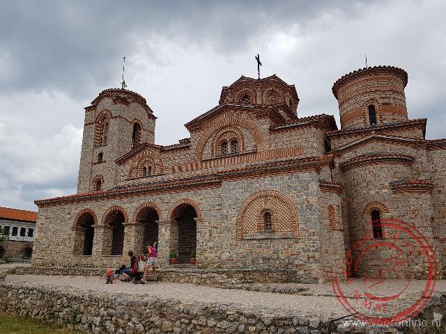 De Crkva Sveti Kliment i Pantelejmon kerk in Ohrid