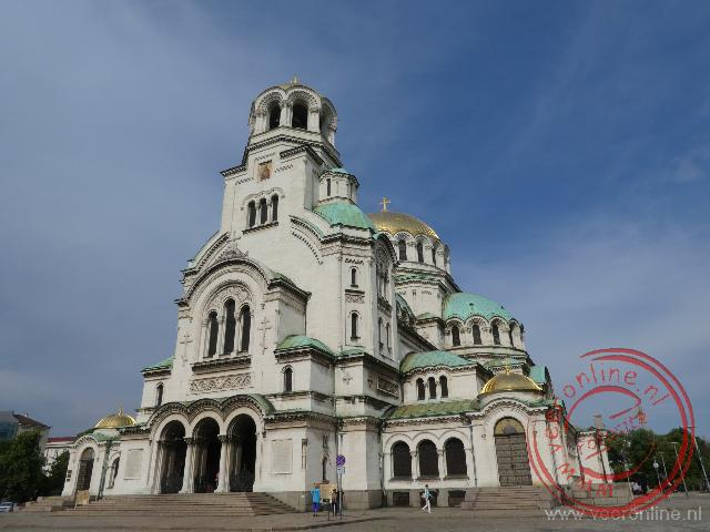 De Alexander Nevski kathedraal in Sofia
