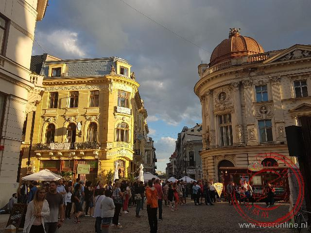 De oude wijk van Boekarest