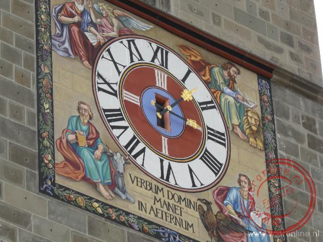 Het uurwerk van de zwarte kerk