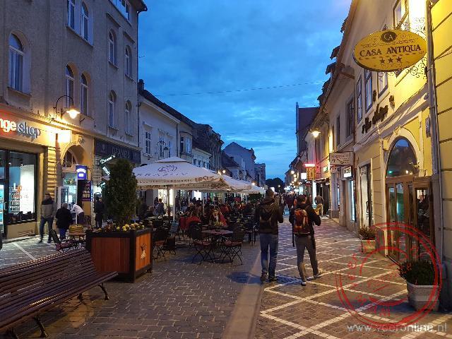 Ons hotel ligt centraal in het voetgangersgebied van Brasov