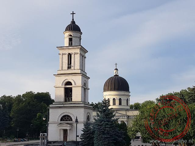 De Russisch Orthodoxe kathedraal in Chisinau