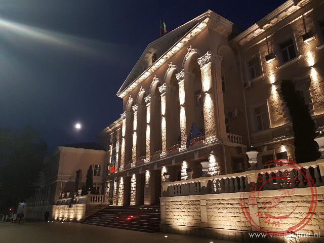 Het parlementsgebouw van Moldavië