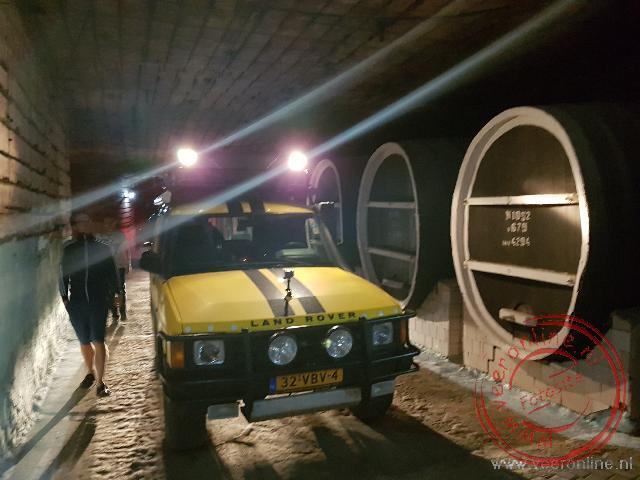 Een rondrit met eigen auto door de wijnkelders van Milestii Mici
