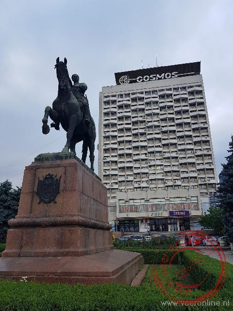 Het Cosmos hotel toont nog de Russische invloeden