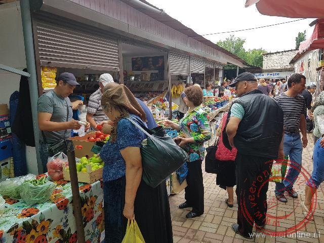De Roma markt in Soroca