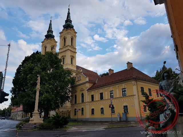 De kerk van Miskolc