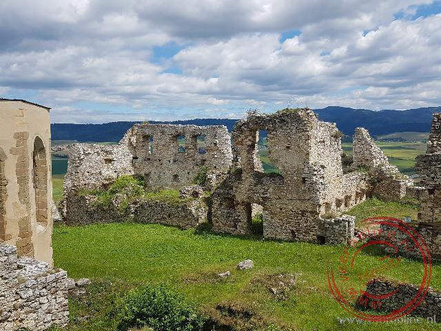 Het Upper Castle van Spis