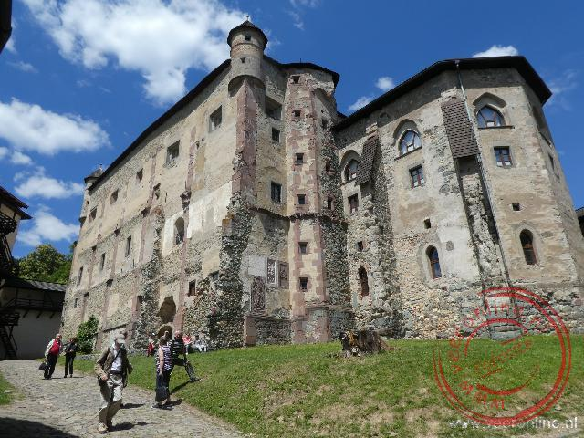 Het oude kasteel van Banska Stiavnica