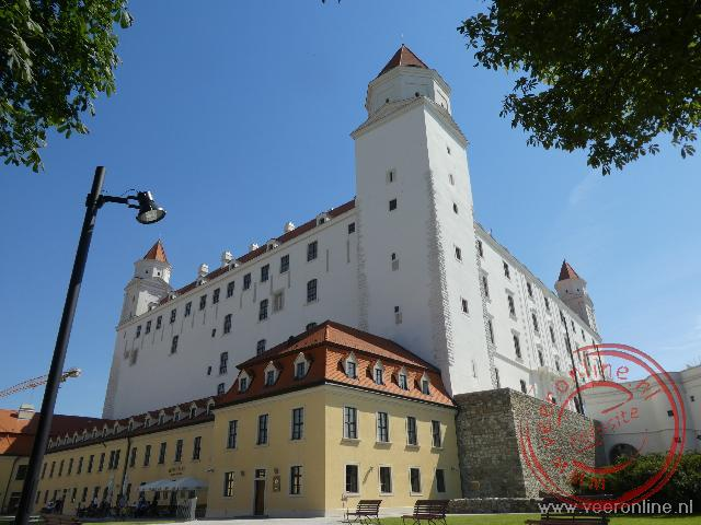 Het kasteel van Bratislava