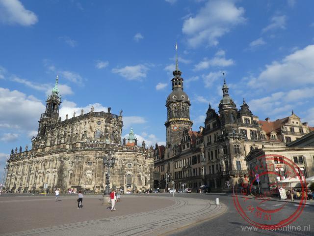 Na de oorlogsjaren is het centrum van Dresden volledig gerestaureerd