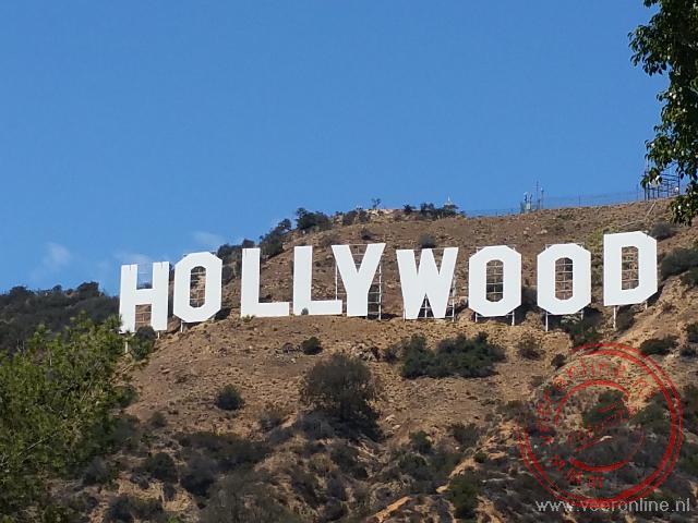 De wereldberoemde Hollywood letters uit 1923