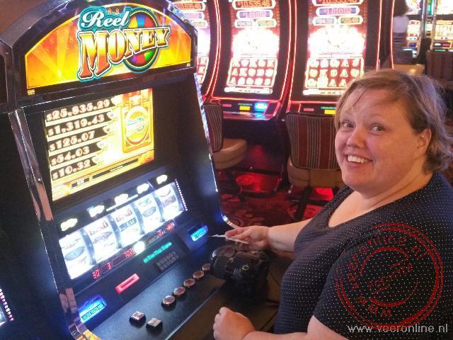 Een gokje wagen in een casino in Las Vegas