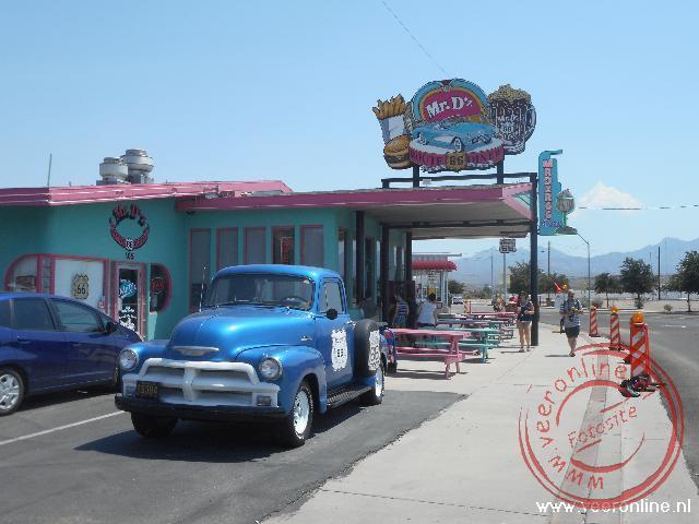 Het Route66 Diner Restaurant in Kingman