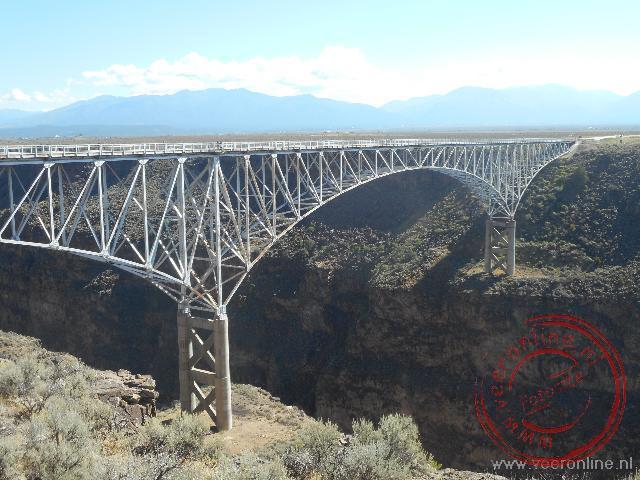 De 172 meter hoge Rio Grande Bridge