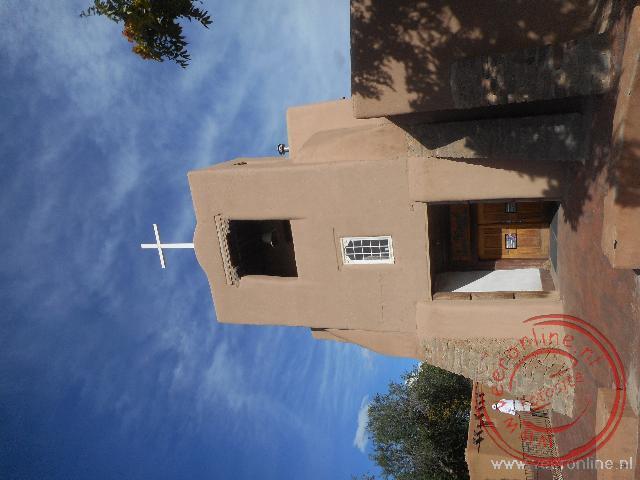 De lemen kerk in Taos
