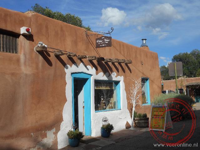 Het oudste huis in de Verenigde Staten staat in Santa Fe